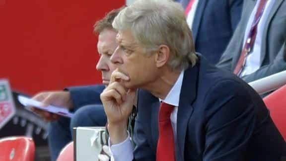 Wenger:' He is one of the ten percent of players who can reach anywhere'.
