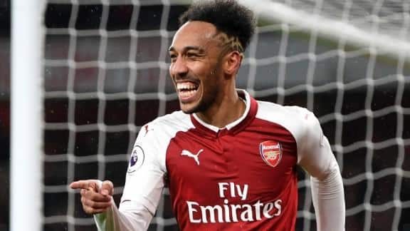 Aubameyang hasn't even been a topfit yet: he is' one hell or player'.