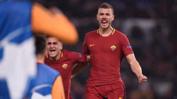 Dzeko makes first goal in knockout phase:' Chelsea?