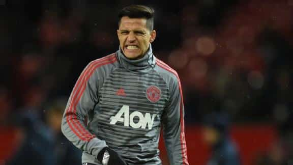 Sánchez only eats: 'Maybe he thinks: I shouldn't have gone here'.