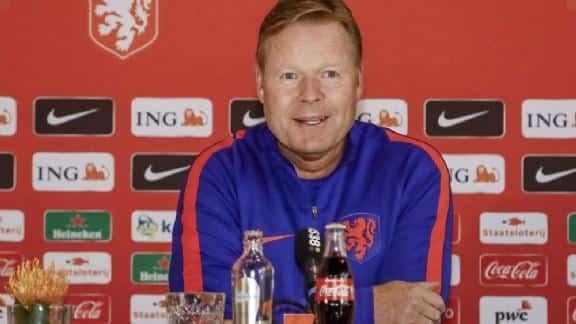 Koeman appoints Van Dijk as the new captain of the Dutch Team.