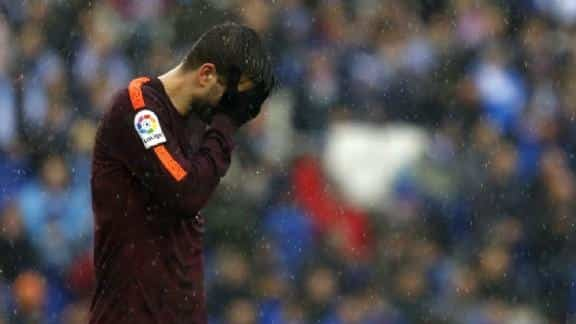 Piqué sweaty little carrot: 'He got crazy, I almost bite into my pants'.