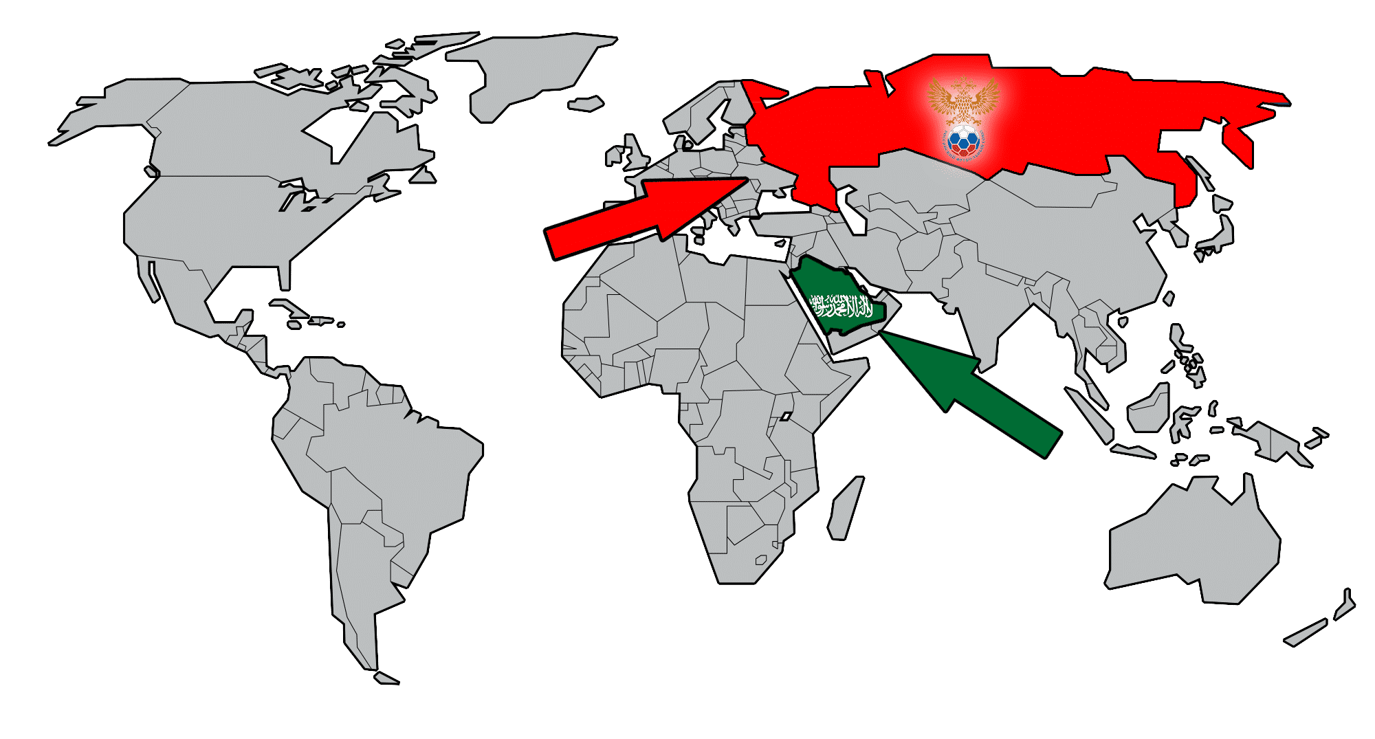 WORLD CUP CLASH PREVIEW: Russia vs Saudi Arabia - Sports of the Day