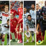 6 nations that rules the world football cup 2018 Russia