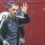 Antoine Griezmann Russia Arrival