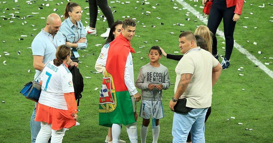 Cristiano Ronaldo bodyguard MMA fighter Goncalo Salgado