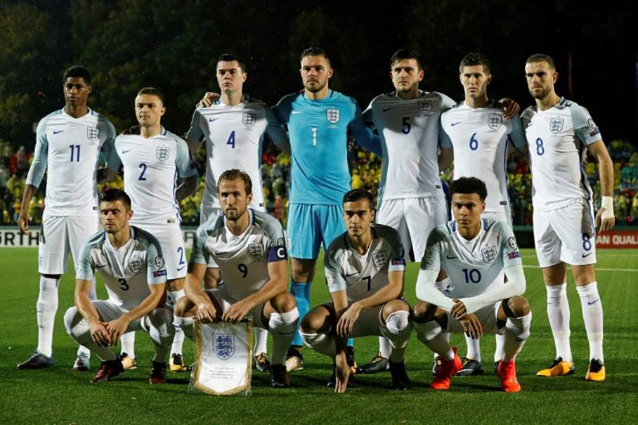 England national football squad world cup 2018 Russia