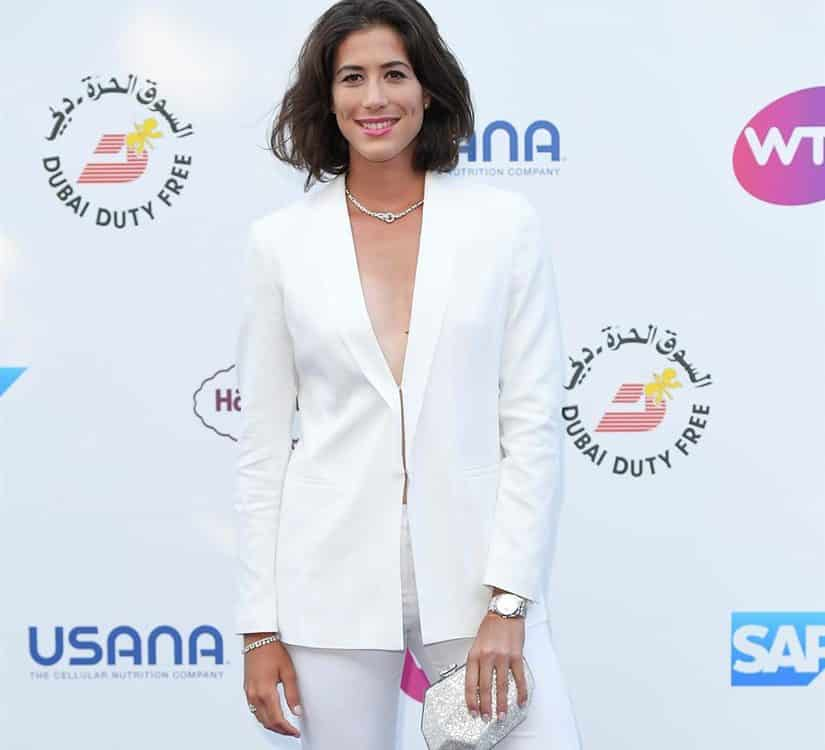 Garbine Muguruza pre-Wimbledon tennis party