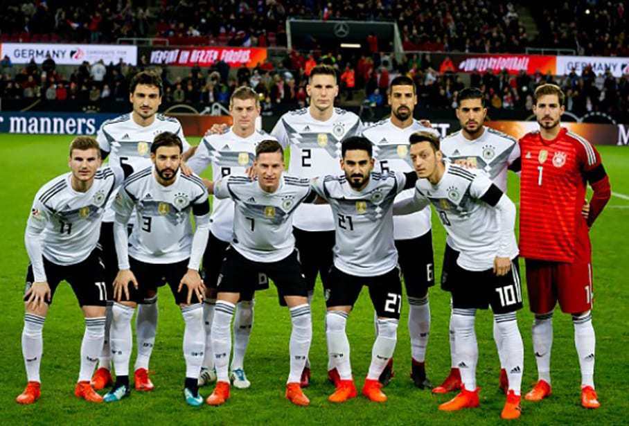 Germany national football squad Fifa World Cup 2018