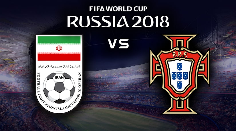 Iran Vs Portugal World Cup match Group B