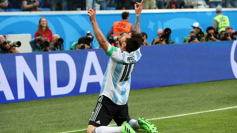 Messi Goal World Cup 2018 – Lionel Messi Scores 2018 World Cup's 100th Goal - Sports of the Day