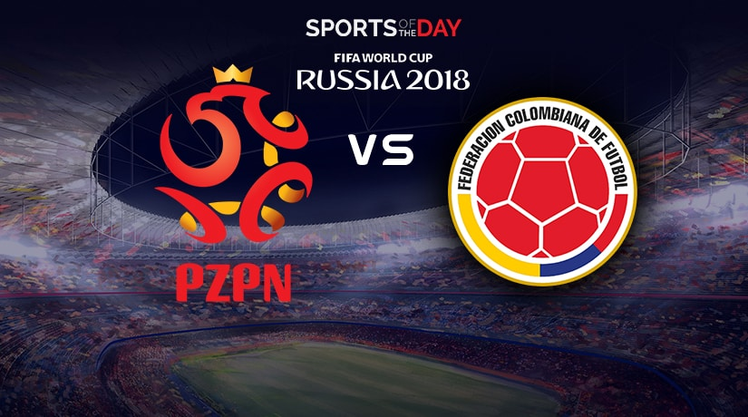 Poland vs Colombia world cup match from group H