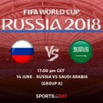 World Cup 2018: Russia vs Saudi Arabia preview 17:00 14.06.2018 opening game