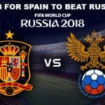 Spain vs Russia round of 16 match one of the best vs the host who will pass through
