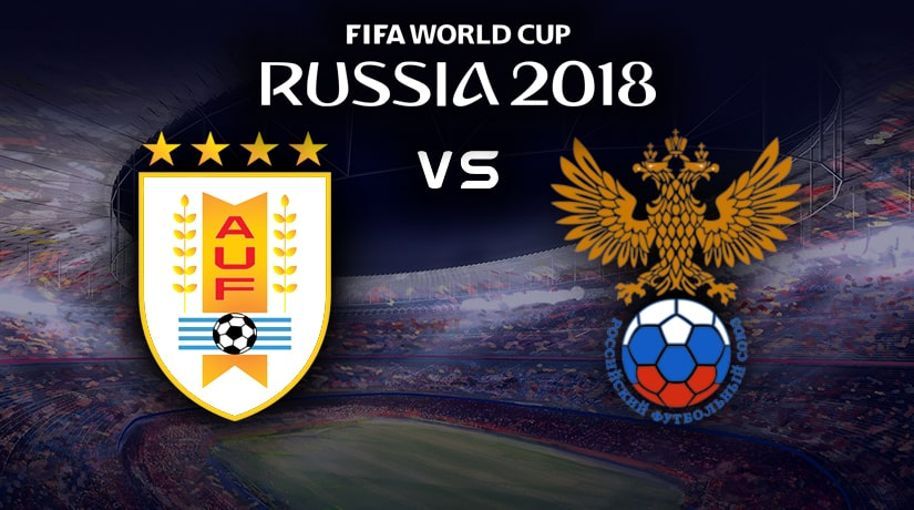 Uruguay vs Russia World Cup match Group A