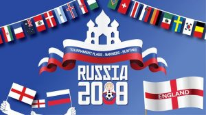 World Cup Russia 2018 bunting