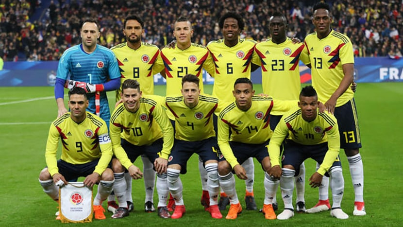 Colombia national football squad for FIFA World Cup 2018 Russia