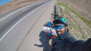 the Indian who cycled to Russia to meet Messi at the World Cup 2018