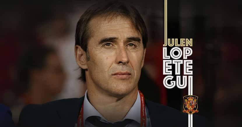 Julen Lopetegui new Real Madrid Manager