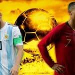 Cristiano Ronadlo and Lionel Messi Ballon d'Or-2018