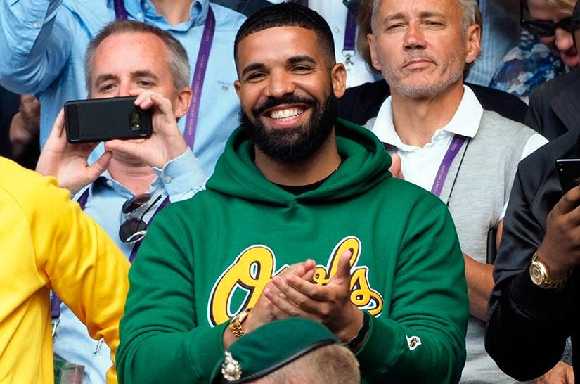 Drake Wimbledon 2018