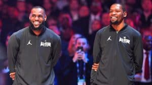 Durant and LeBron