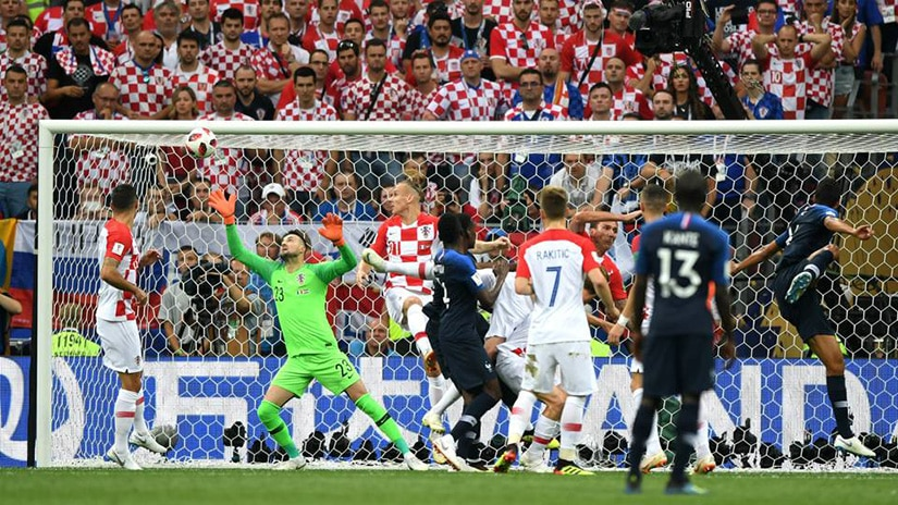 France vs Croatia FIFA World Cup Russia-Final