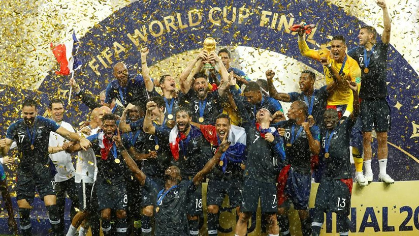 France world cup winner 2018