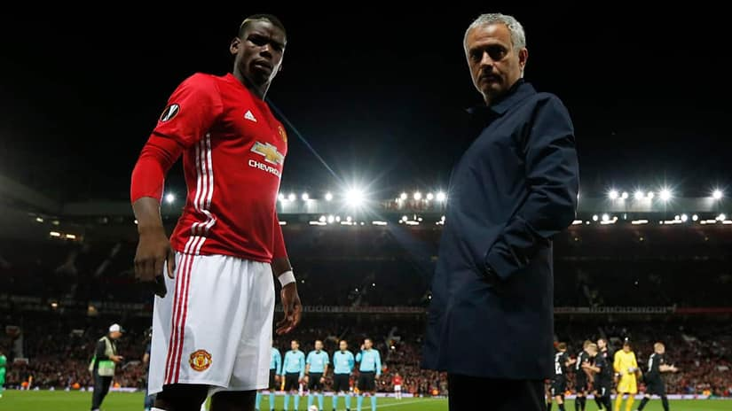 Jose Mourinho defends Paul Pogba