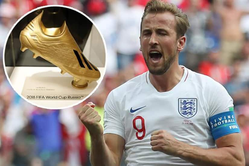 Kane golden boot world cup 2018