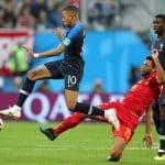 Kylian Mbappe Mossua Dembele Belgium vs France