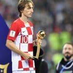 Luka Modric Golden Ball World Cup 2018