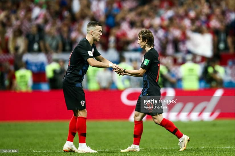 Luka Modric going out of semi final game World Cup vs England