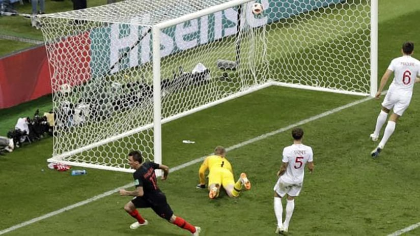 Mario Mandzukic goal vs Englad for World Cup Final