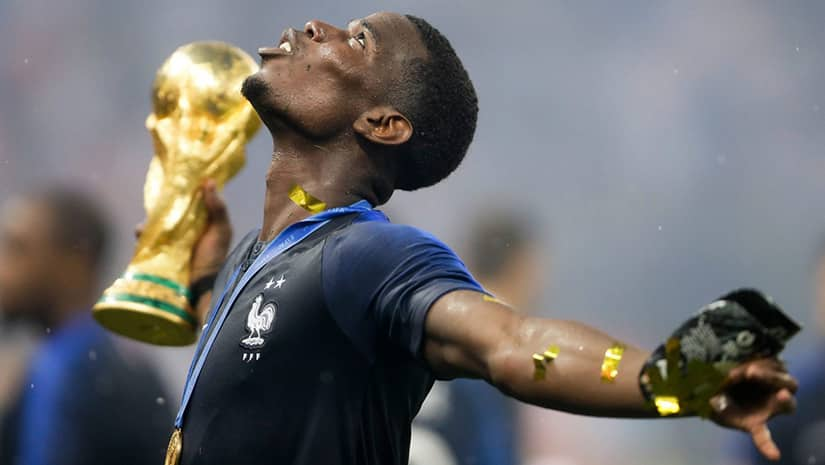 Paul Pogba France World Cup Winner