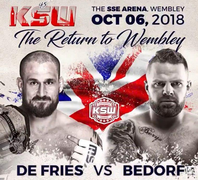 Phil De Fries vs Karol Bedork the return of Wembley