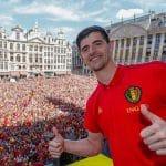 Thibaut Courtois Golden Glove World Cup