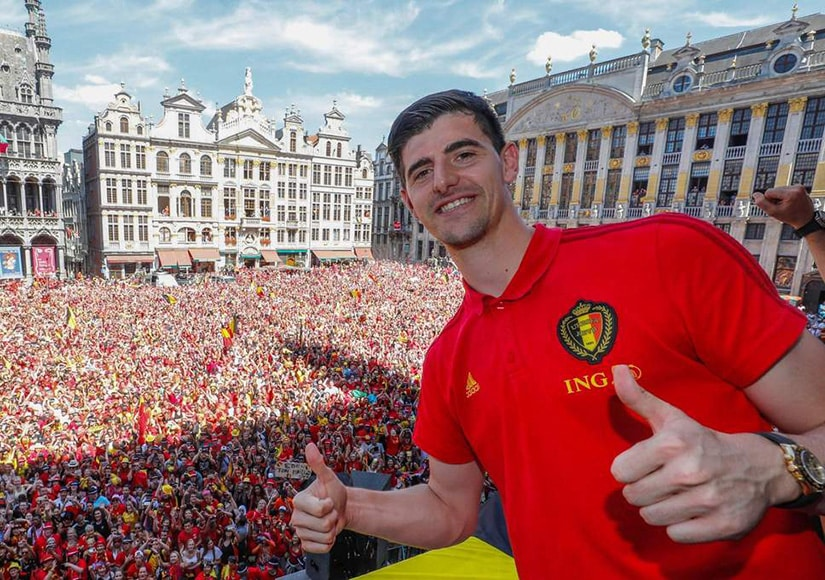 Thibaut Courtois Golden Glove World Cup