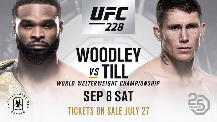 Tyron Woodley vs Darren Till UFC 228