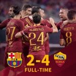 Barcelona 2 – 4 Roma