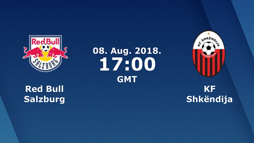 KF Shkendija vs Red Bull Salzburg