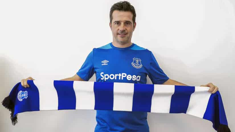 Marco Silva Everton's Manager
