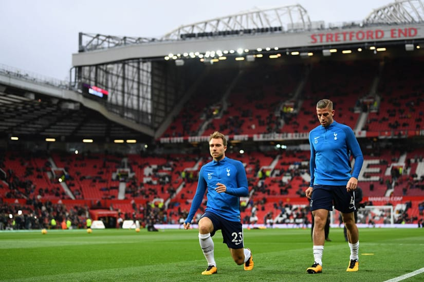 Old Trafford Man Utd vs Tottenham