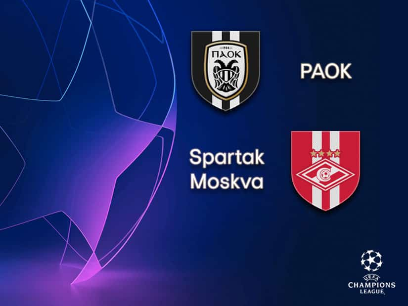 PAOK Thessaloniki vs Spartak Moscow Champions League qualifications