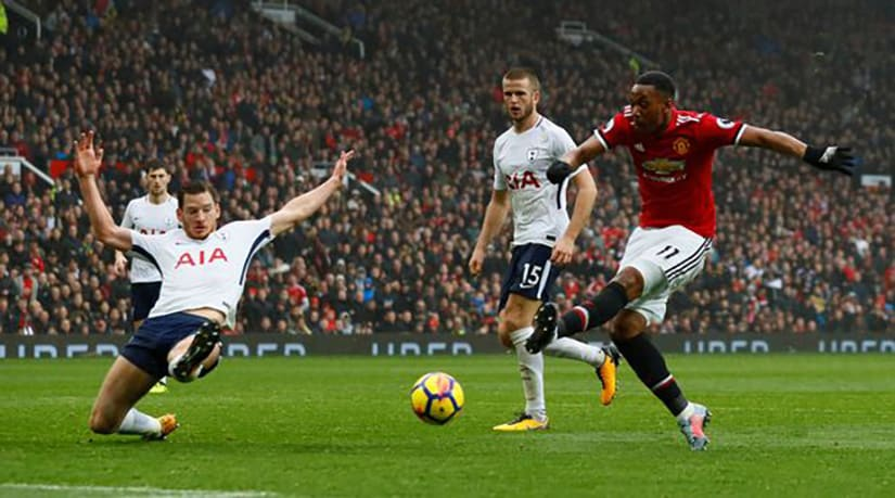 Premier League Manchester United vs Tottenham Hotspur