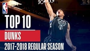 Top 10 Dunks of the 2018 Season