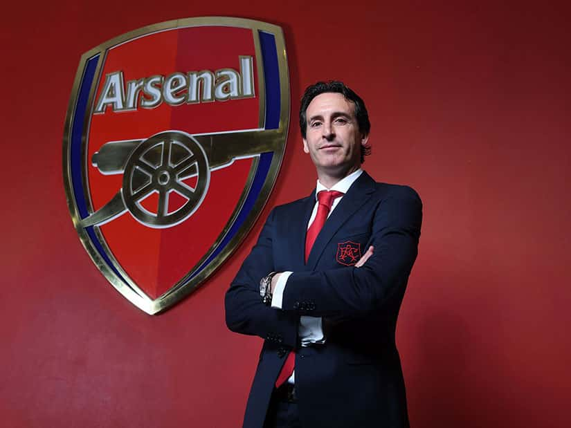 unai emery coach arsenal fc