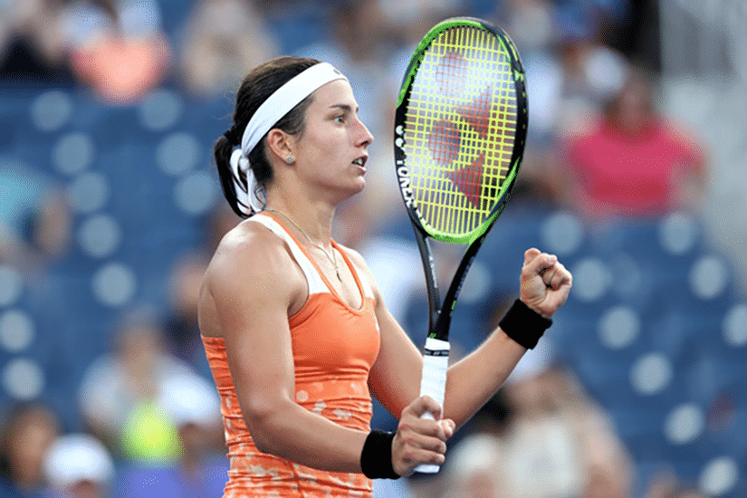 Image result for sevastova us open 2018