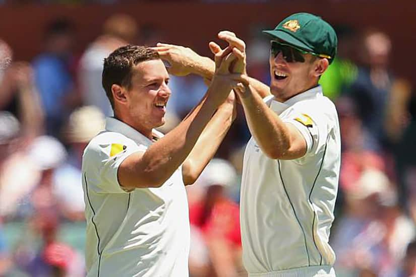 Hazlewood and Marsh Named Joint Vice-Captains