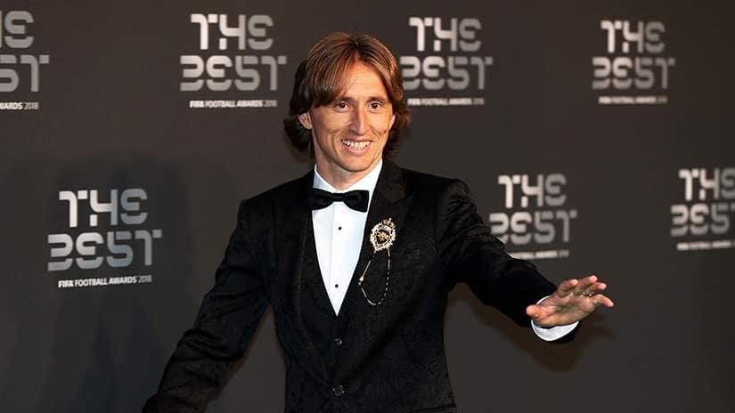 Luka Modric FIFA player of the year